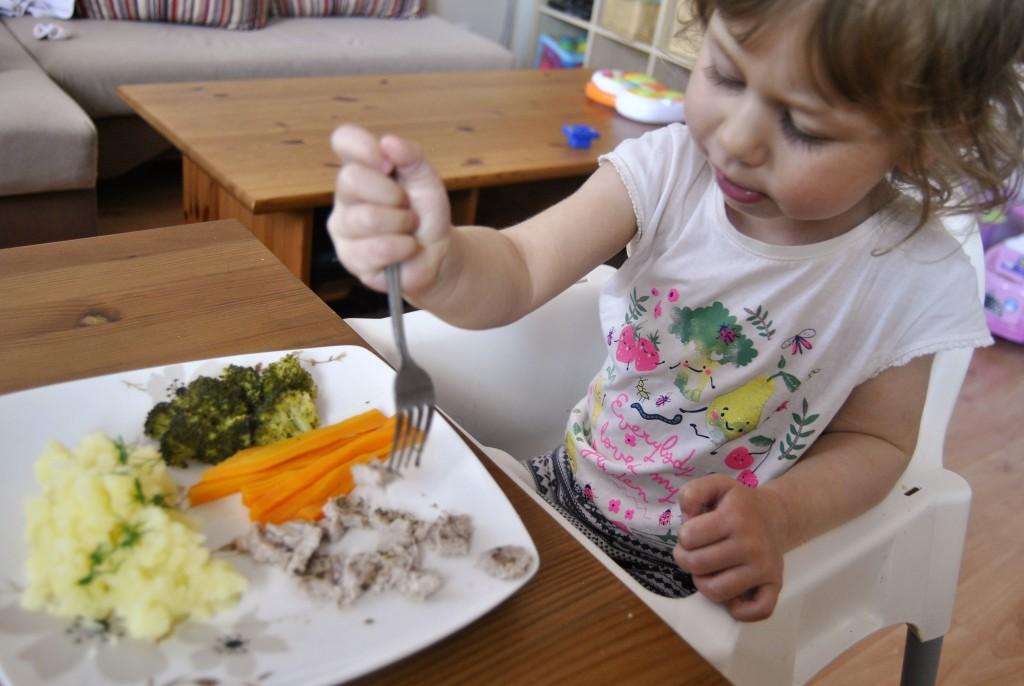 polędwiczki na obiad dla dziecka